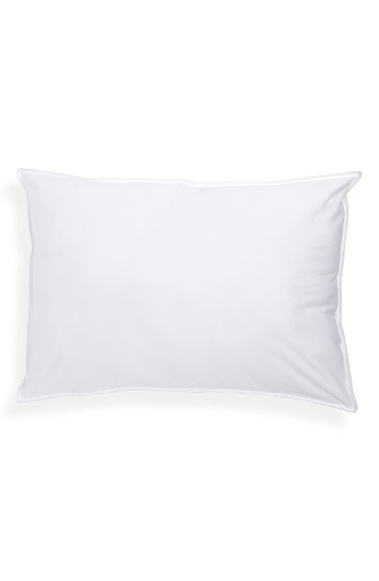 NORDSTROM at Home Black Series 300 Thread Count Medium Support PrimaLoft<sup>®</sup> Pillow, Main, color, 100
