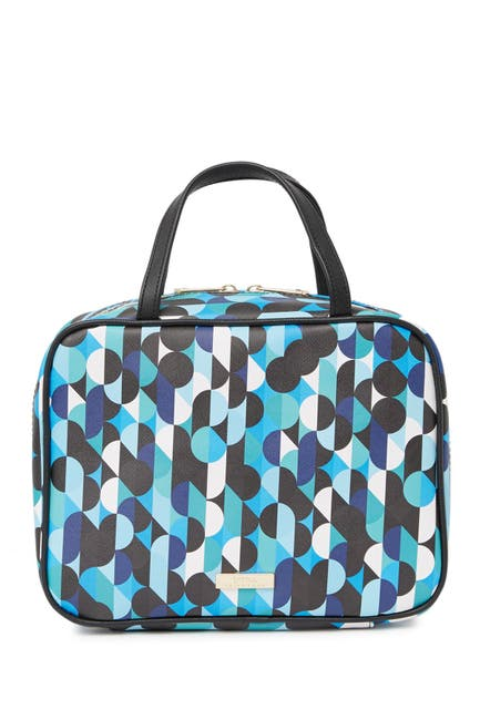Image of Trina Turk Geometric Print Travel Case