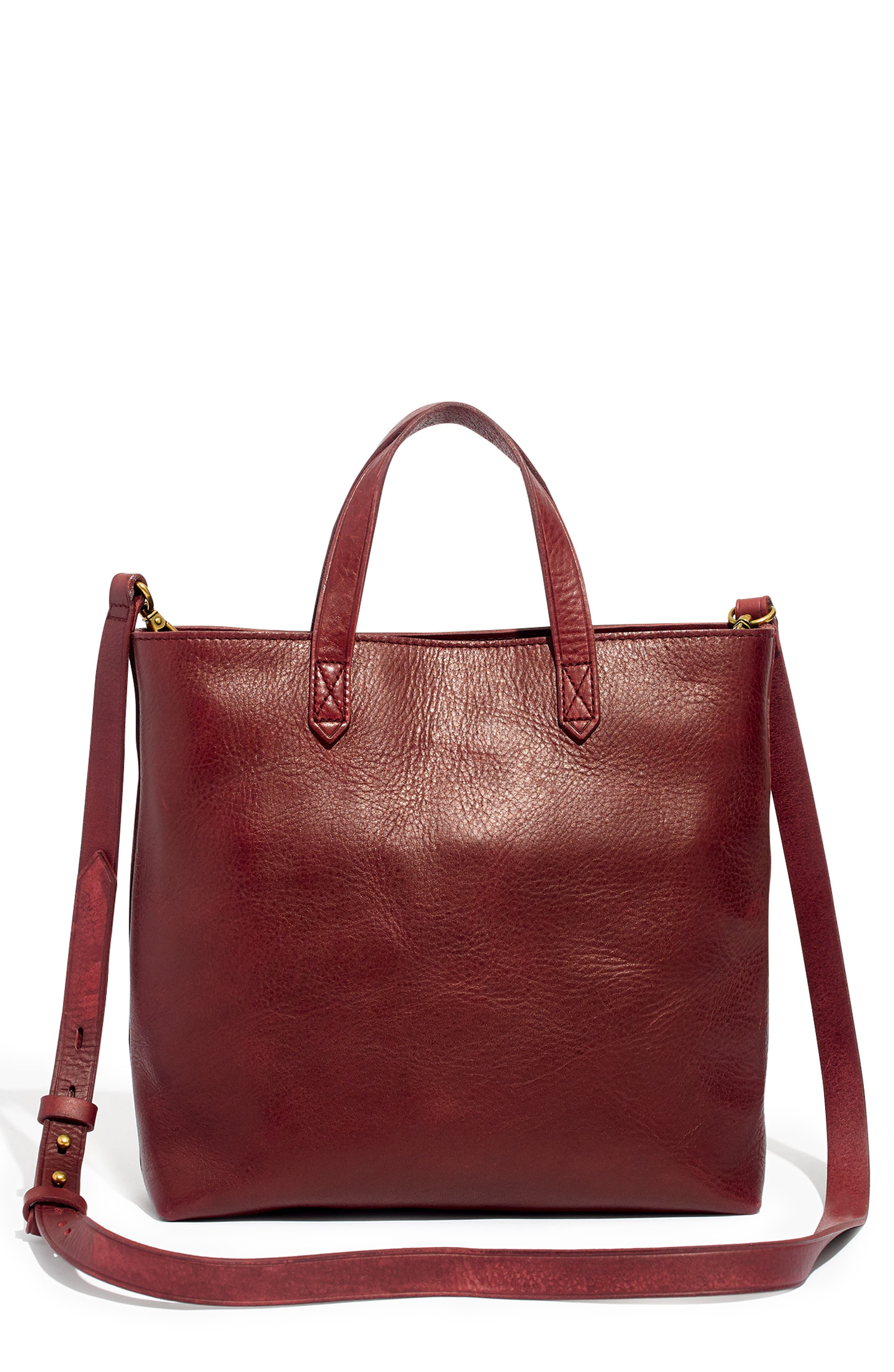 ,                             Small Transport Leather Crossbody Tote,                             Main thumbnail 26, color,                             930