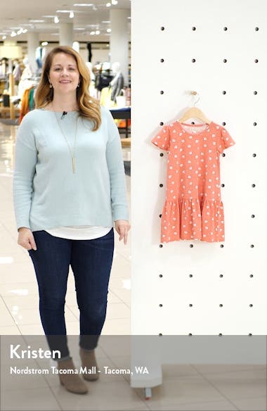 Print Jersey Dress, sales video thumbnail