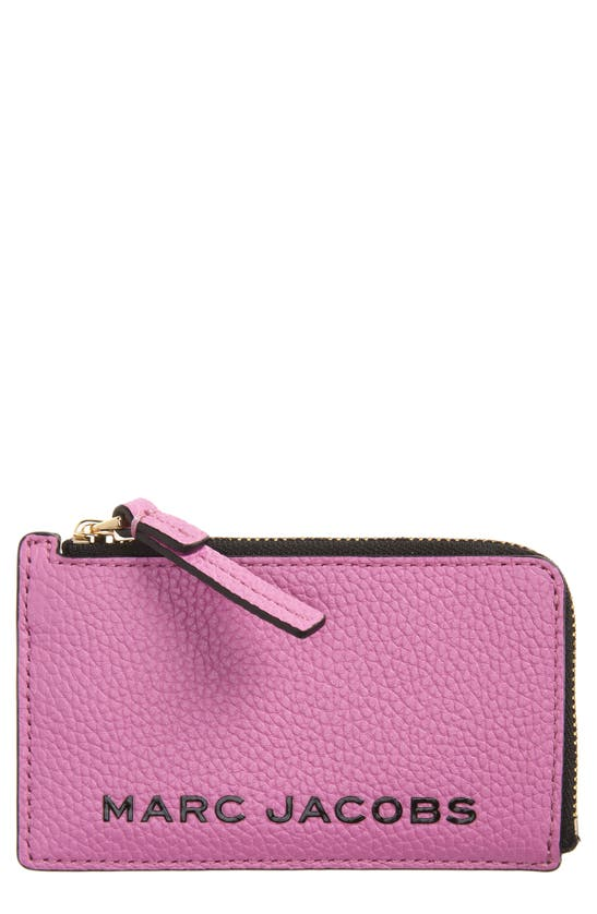 The Marc Jacobs Wallets LOGO LEATHER ZIP WALLET