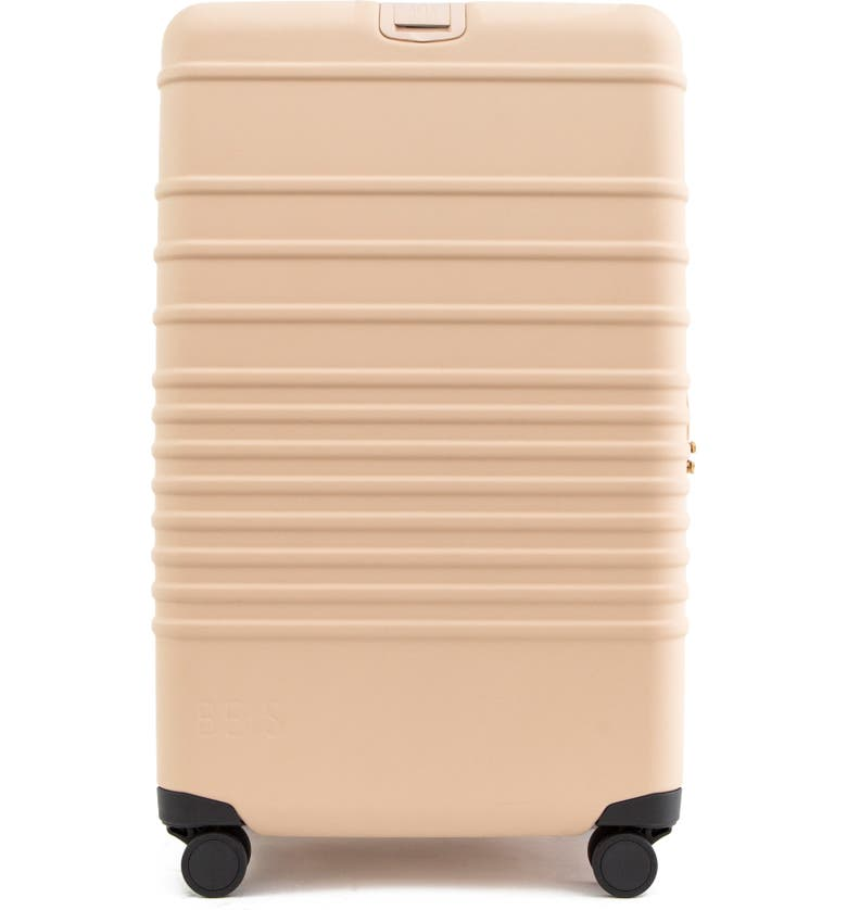 BÉIS The 29-Inch Rolling Spinner Suitcase, Main, color, BEIGE