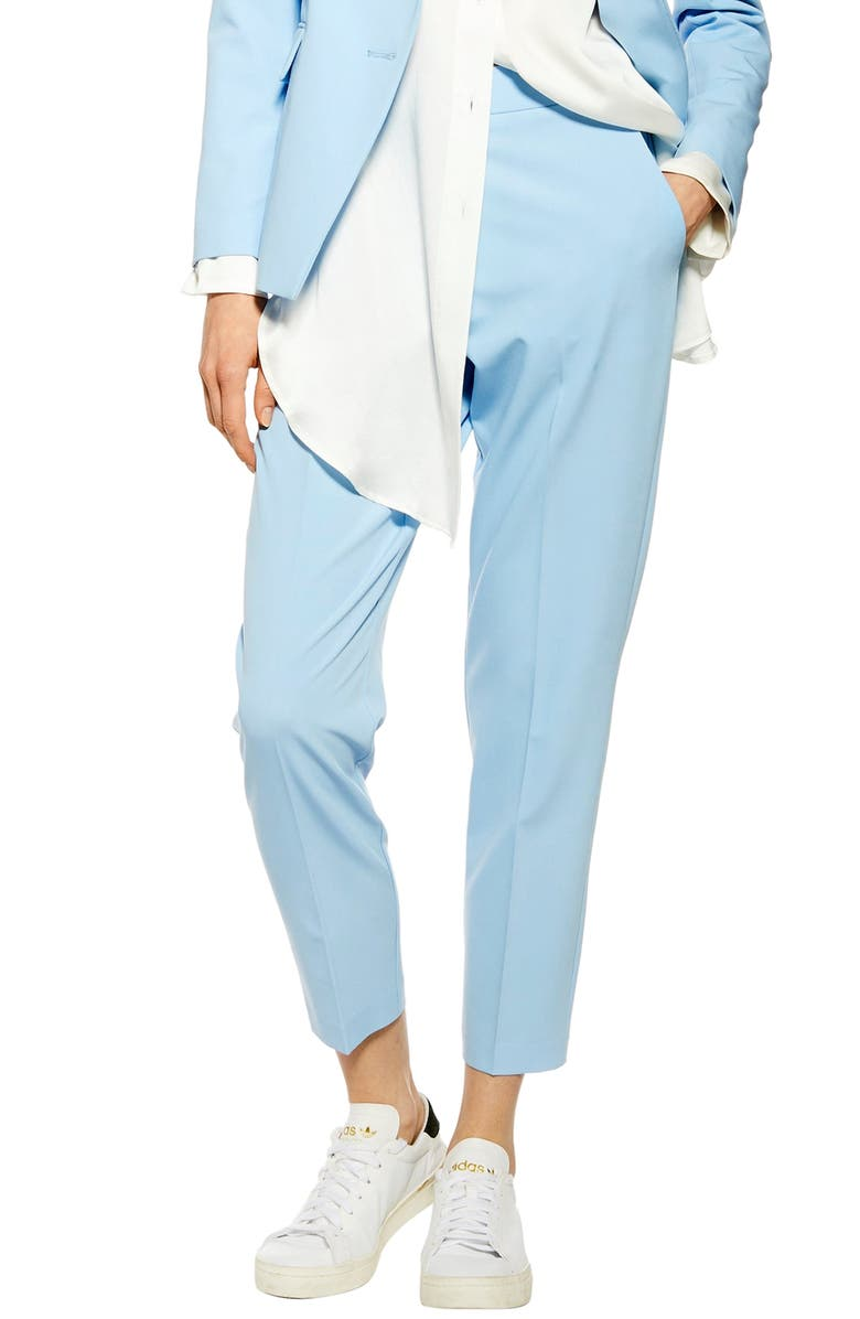 TOPSHOP Taylor Trousers, Main, color, 450