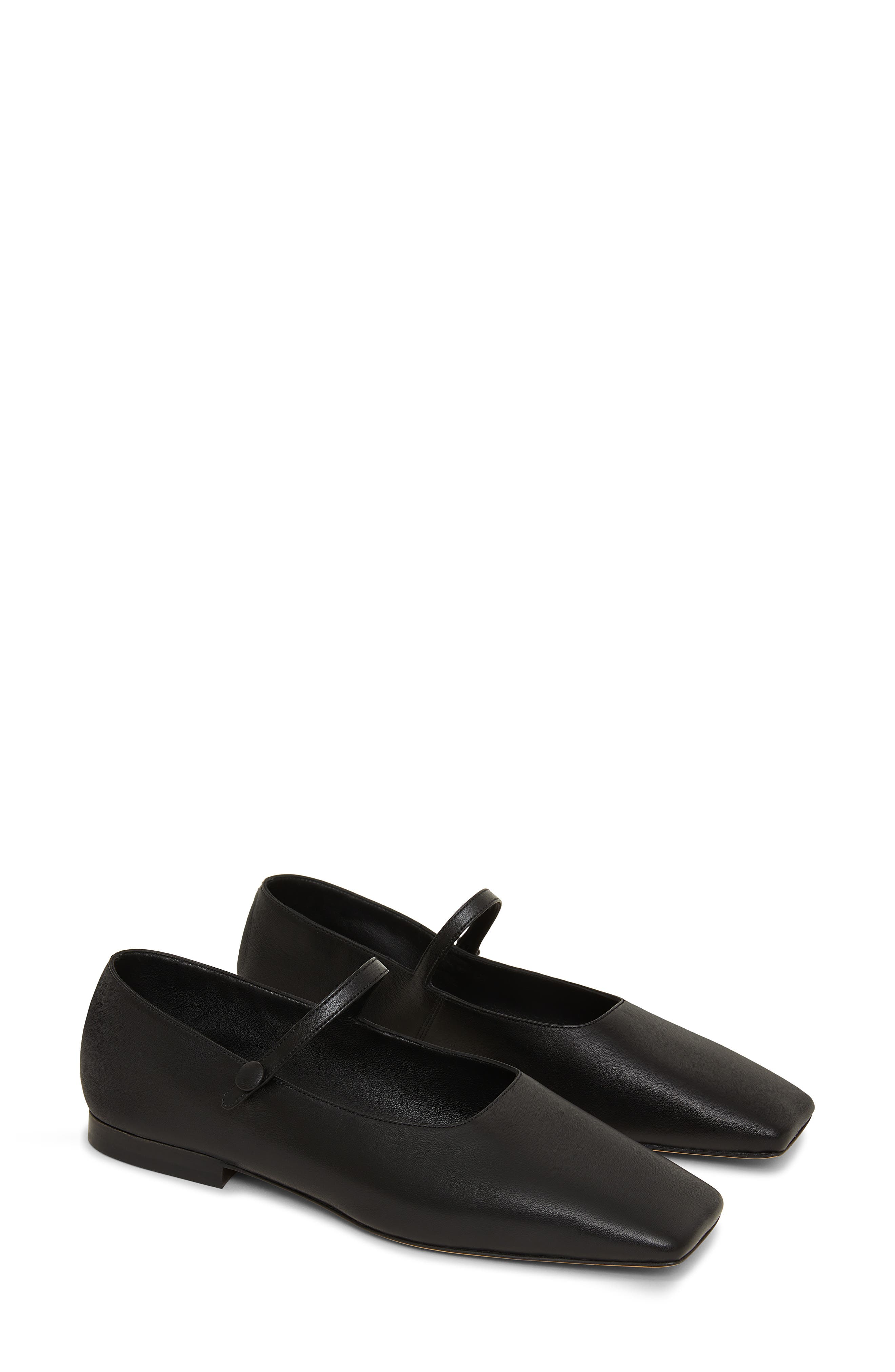 History of Victorian Boots & Shoes for Women Mansur Gavriel Square Toe Mary Jane Size 6Us in Black at Nordstrom $395.00 AT vintagedancer.com