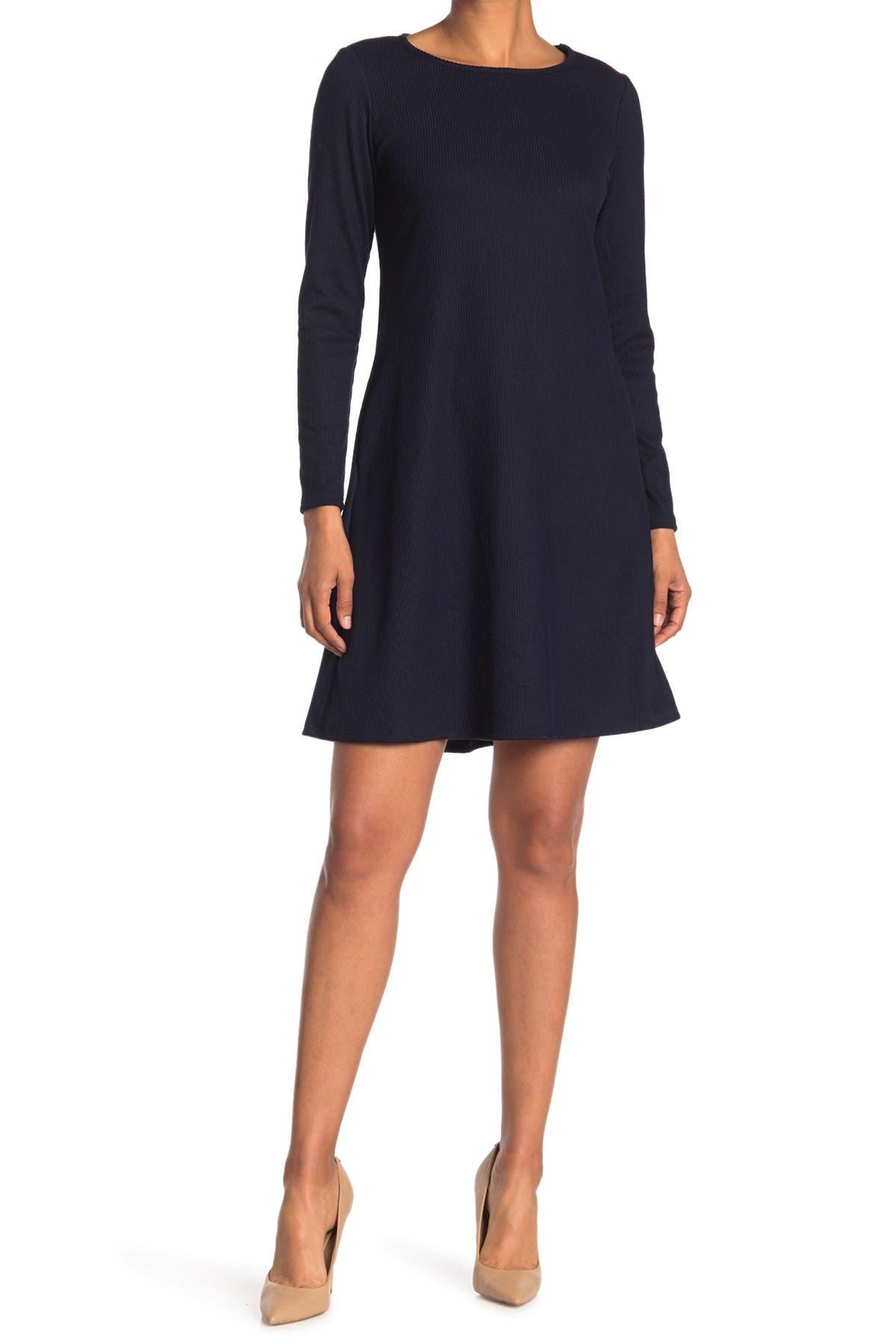 Image of TASH + SOPHIE Long Sleeve A-Line Dress