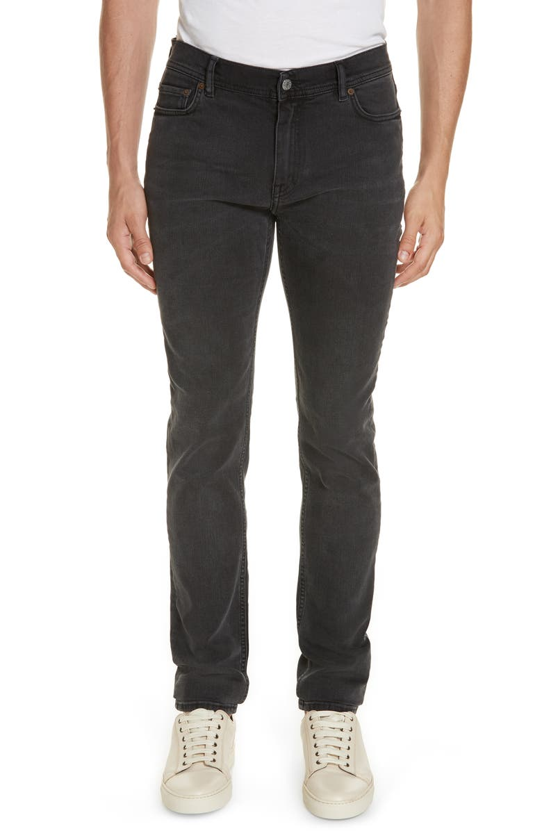 ACNE STUDIOS North Slim Fit Jeans, Main, color, NORTH USED BLK