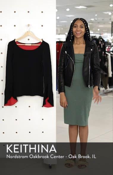 Nicholi Bell Sleeve Sweater, sales video thumbnail
