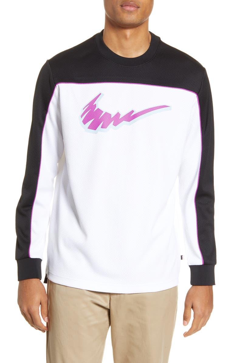 NIKE SB Dri-FIT Long Sleeve T-Shirt, Main, color, 010