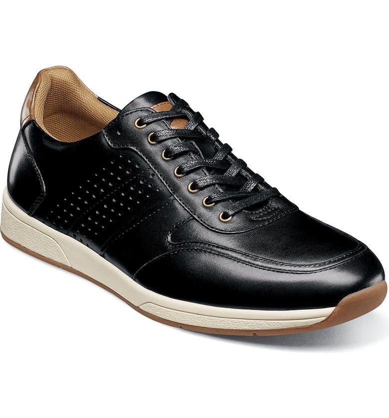FLORSHEIM Fusion Sport Sneaker, Main, color, BLACK