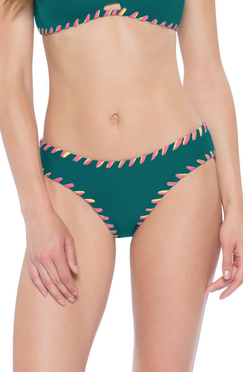 BECCA Camille Reversible Bikini Bottoms, Main, color, 300