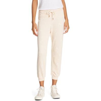 The Great. The Cropped Sweatpants, Pink