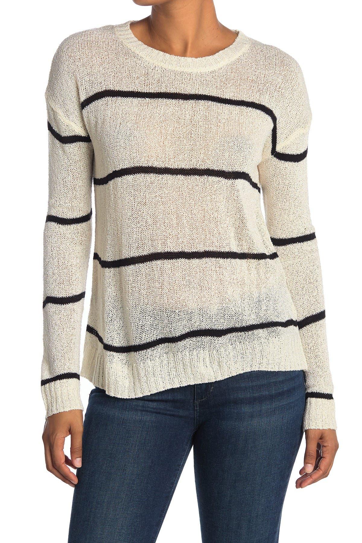 Image of Bobeau Striped Dolman Sweater