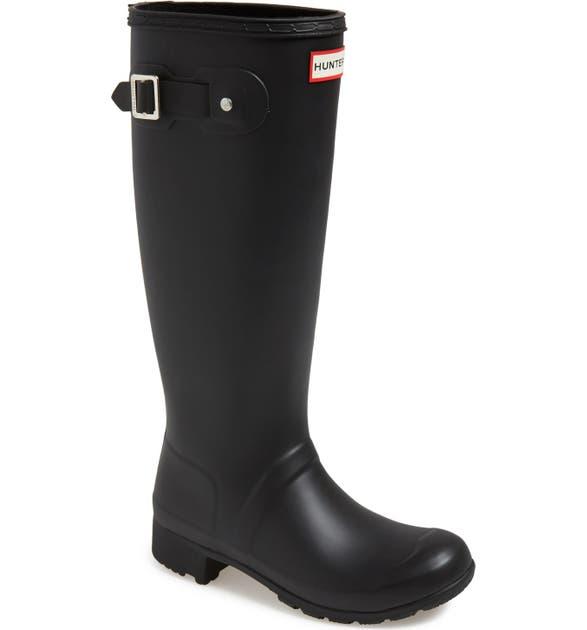Hunter Boots 'TOUR' PACKABLE RAIN BOOT