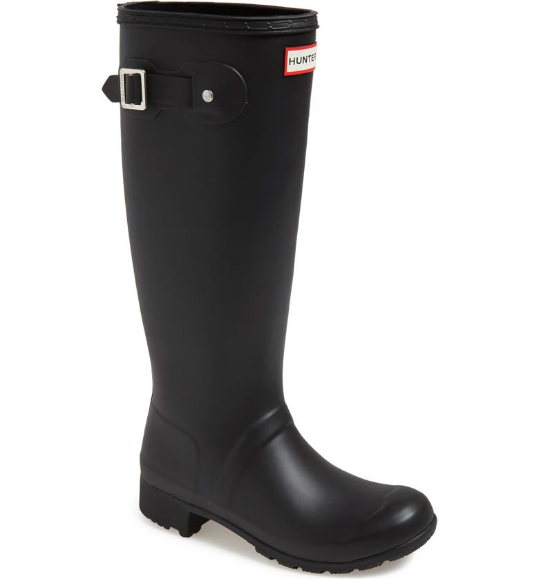 HUNTER 'Tour' Packable Rain Boot, Main, color, 003