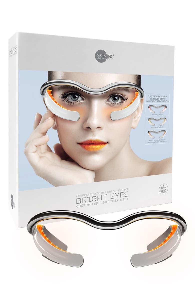 SKIN INC. Optimizer Voyage Tri-Light Glasses LED Light Treatment for Eyes, Main, color, 000