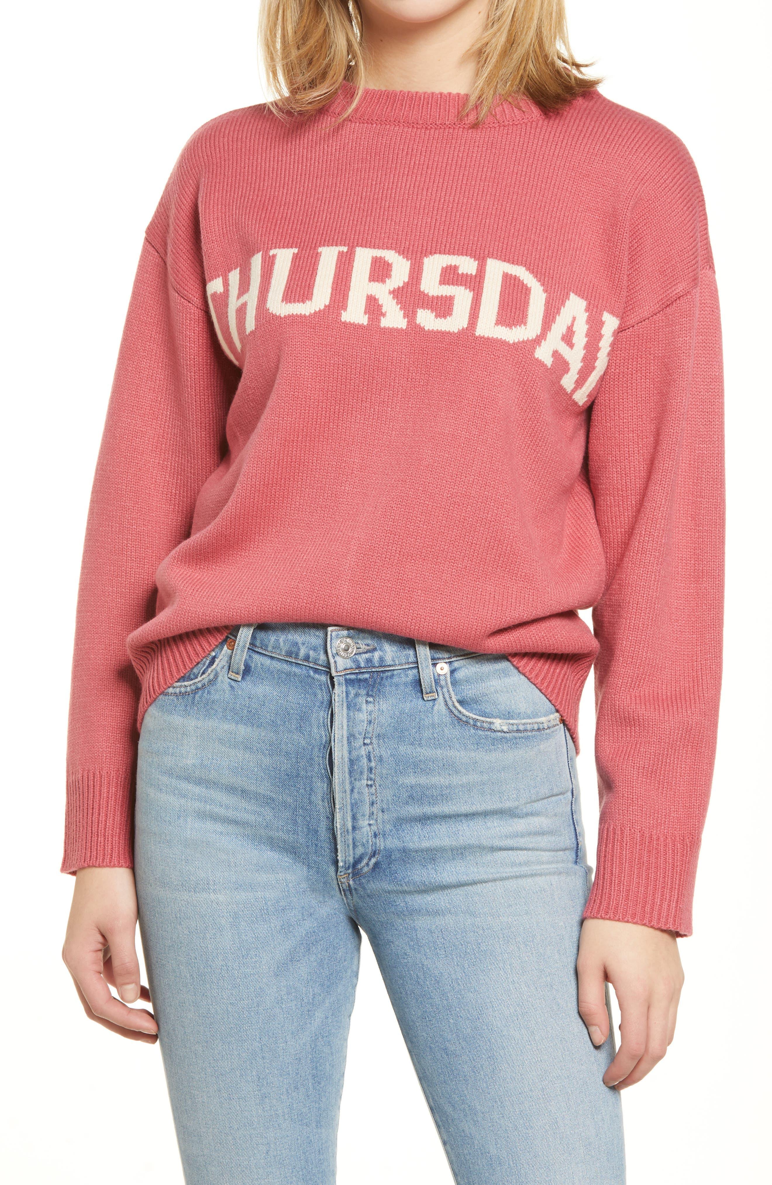 Weekday Motif Sweater