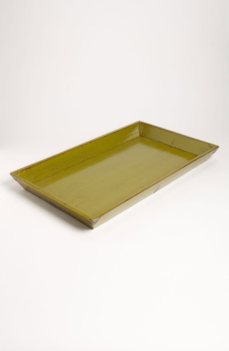 ROYOLA PACIFIC DESIGNS Painted Wood Tray, Main, color, 300