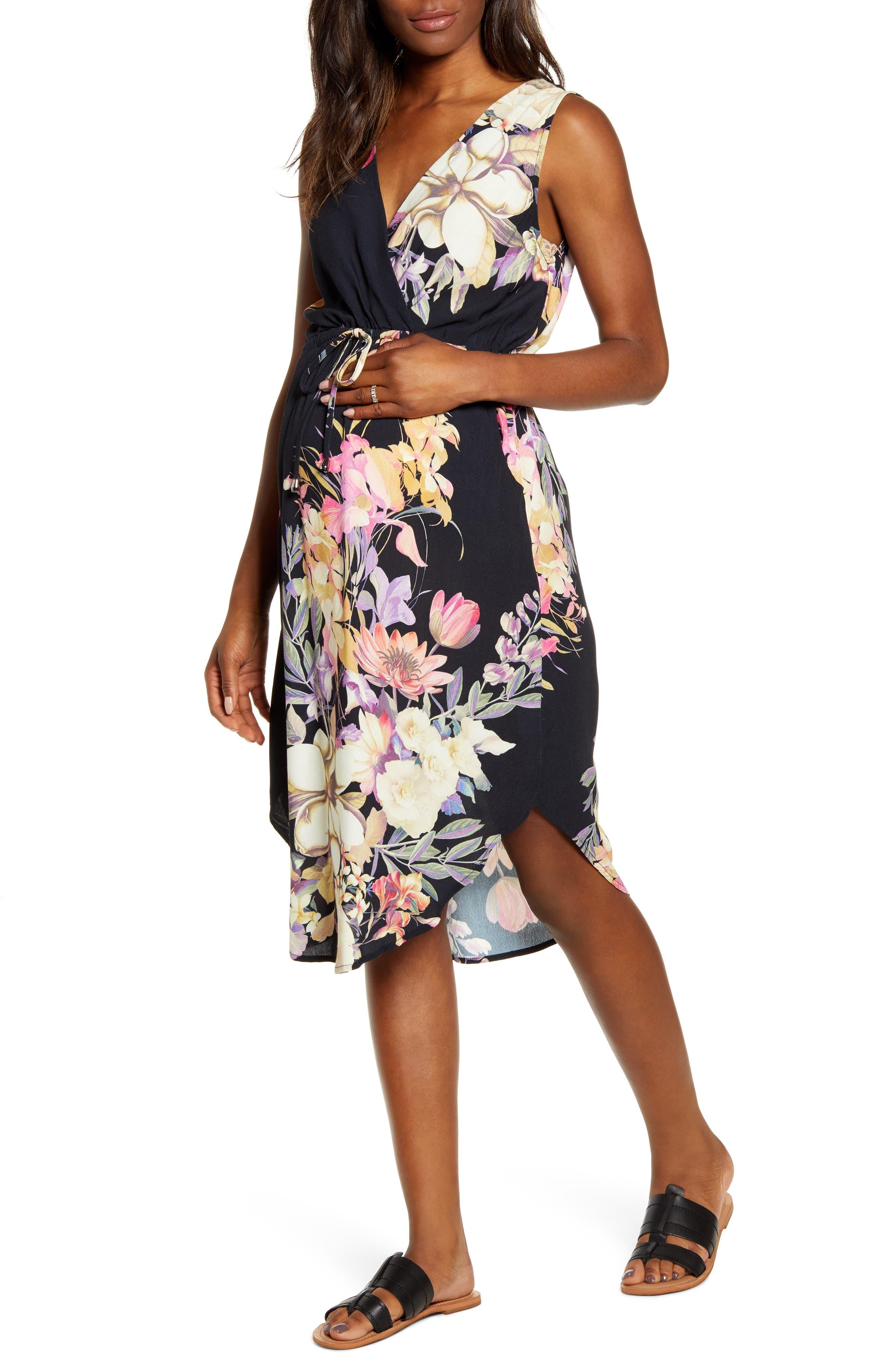 Floral Maternity/nursing Sundress