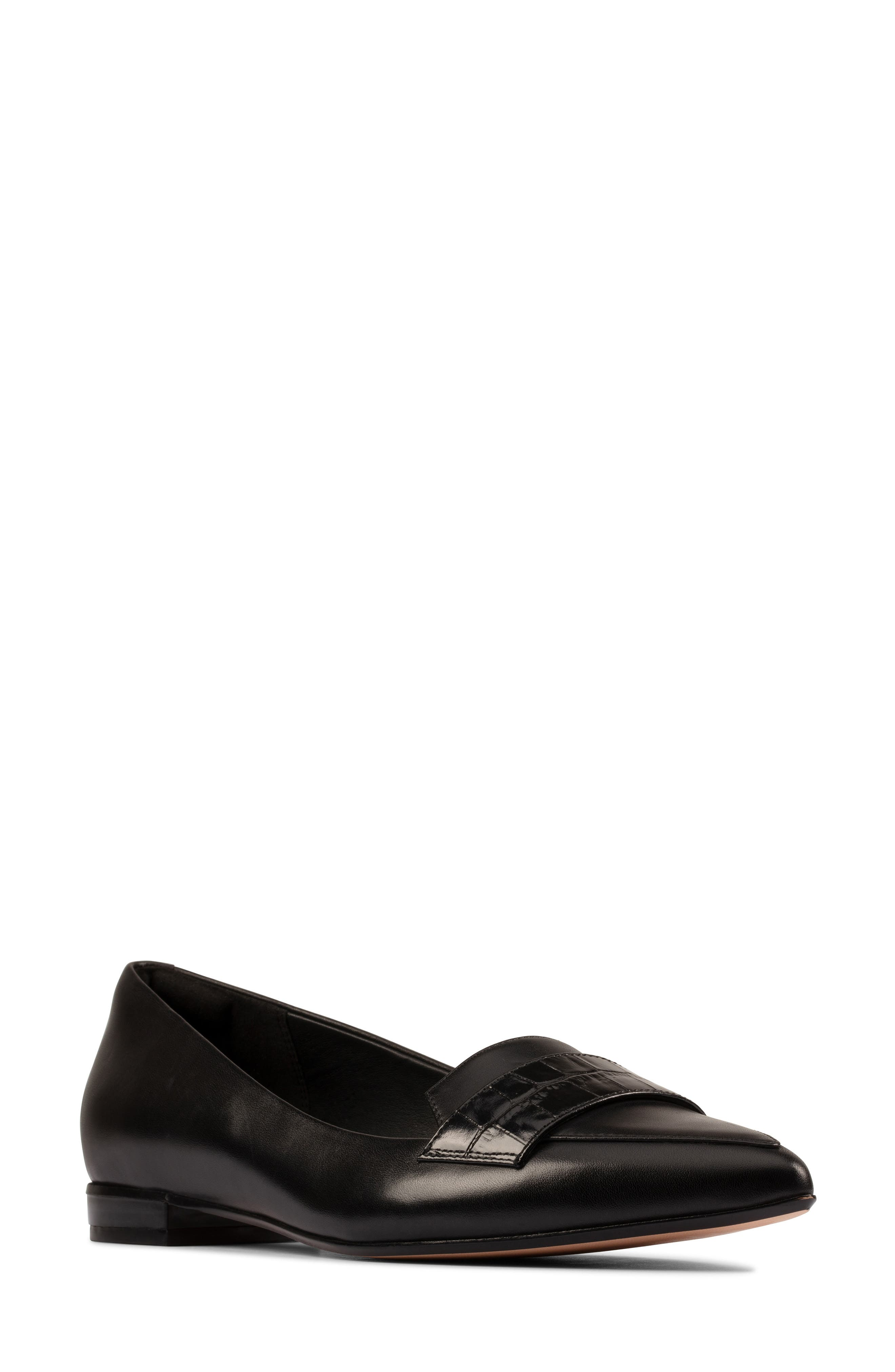 Women's Clarks Laina 15 Pointed Toe Loafer