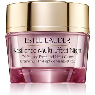 Estee Lauder Resilience Multi-Effect Night Tri-Peptide Face And Neck Creme, .7 oz