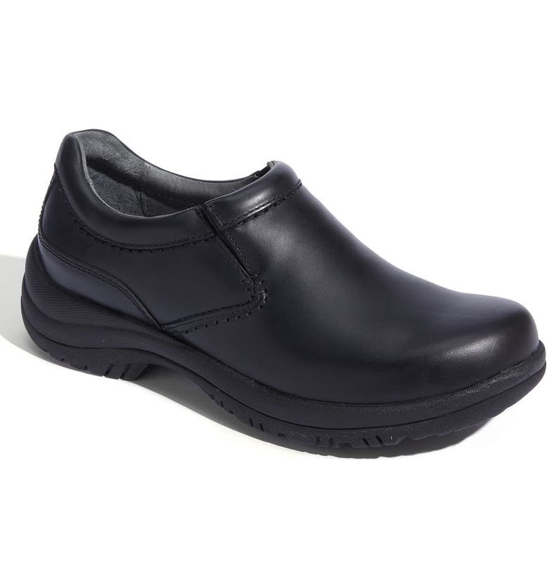 DANSKO 'Wynn' Slip-On, Main, color, BLACK