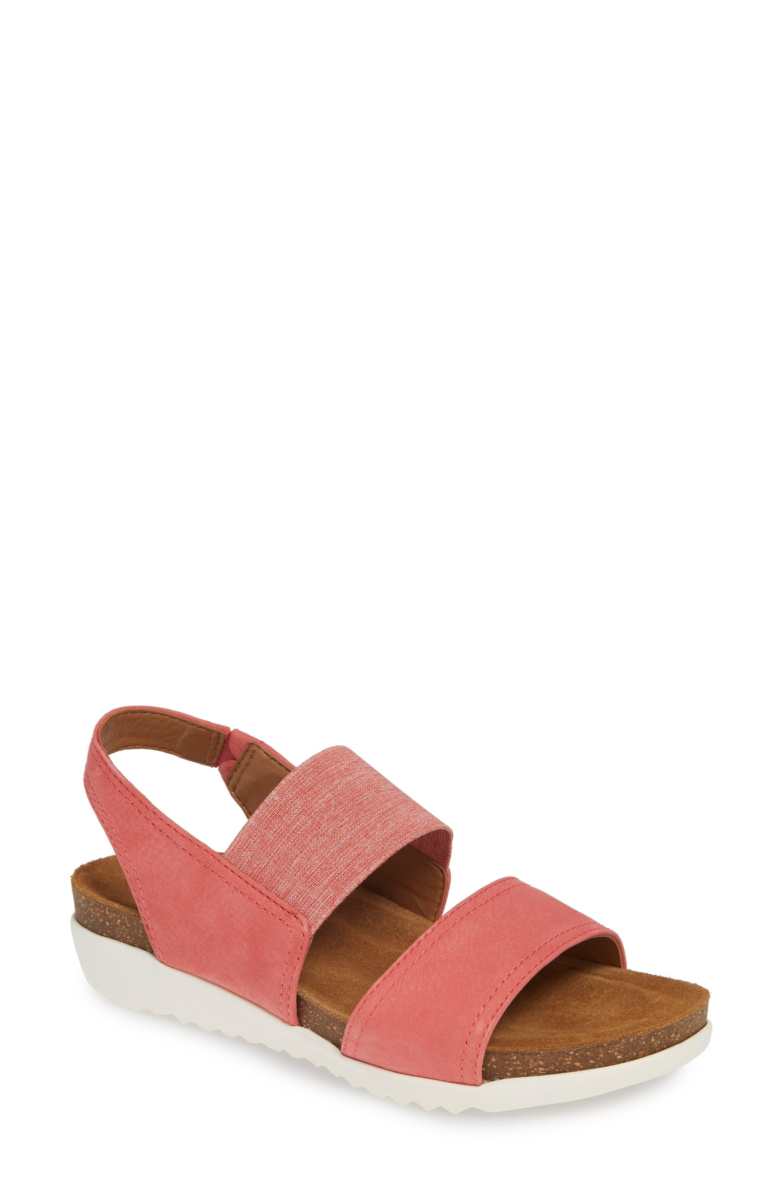 Comfortiva Elicia Wedge Sandal, Pink