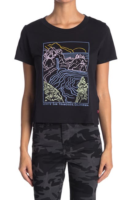 Image of Levi's Surf Crew Neck Graphic T-Shirt