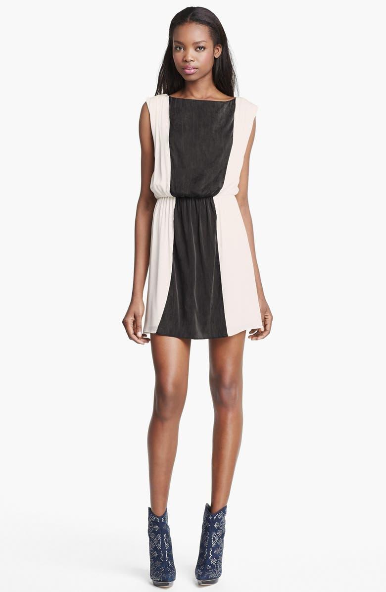 ALICE + OLIVIA 'Kennedy' Blouson Dress, Main, color, 127