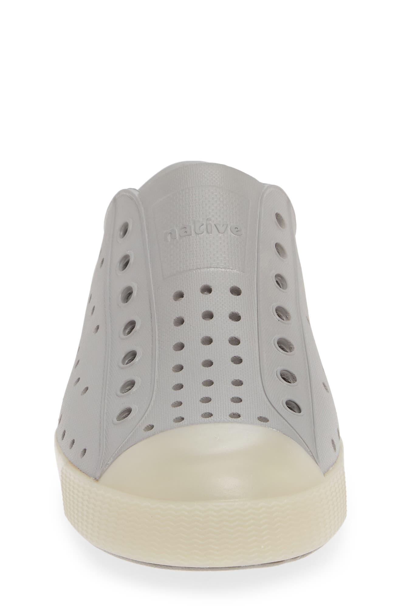 ,                             Jefferson Glow in the Dark Vegan Sneaker,                             Alternate thumbnail 4, color,                             PIGEON GREY/ BANANAS GLOW