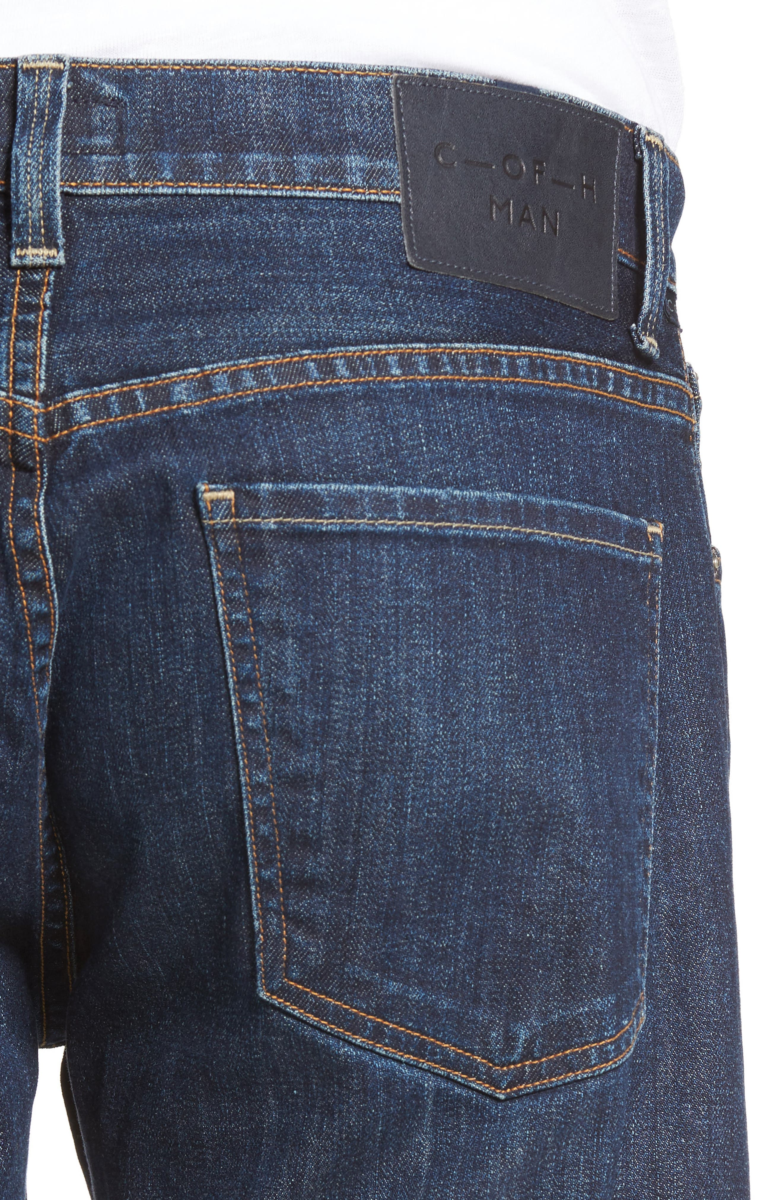 ,                             Bowery Slim Fit Jeans,                             Alternate thumbnail 4, color,                             EMERY