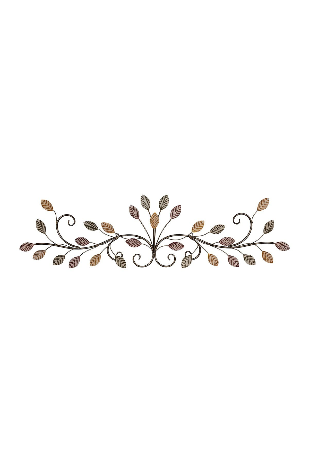 Image of Stratton Home Multi Color Flowing Leaves Over the Door Wall Decor