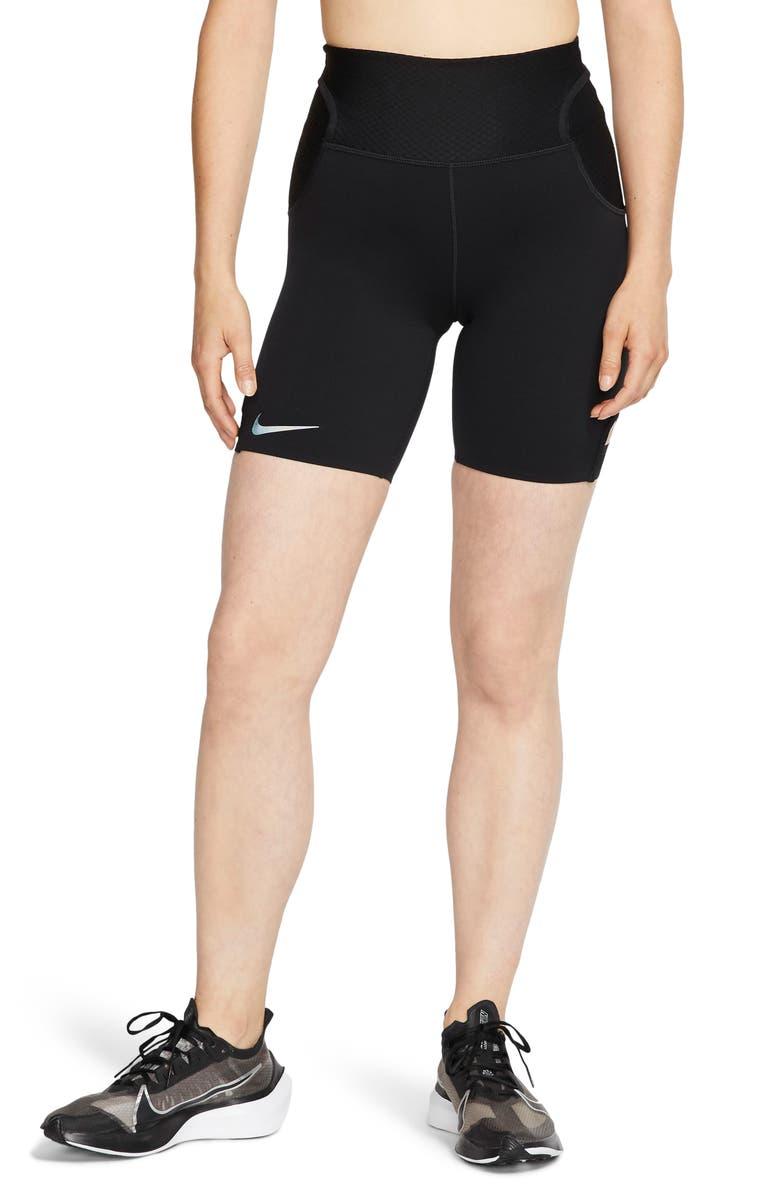 NIKE City Ready Dri-FIT Performance Running Shorts, Main, color, BLACK/ REFLECT BLACK