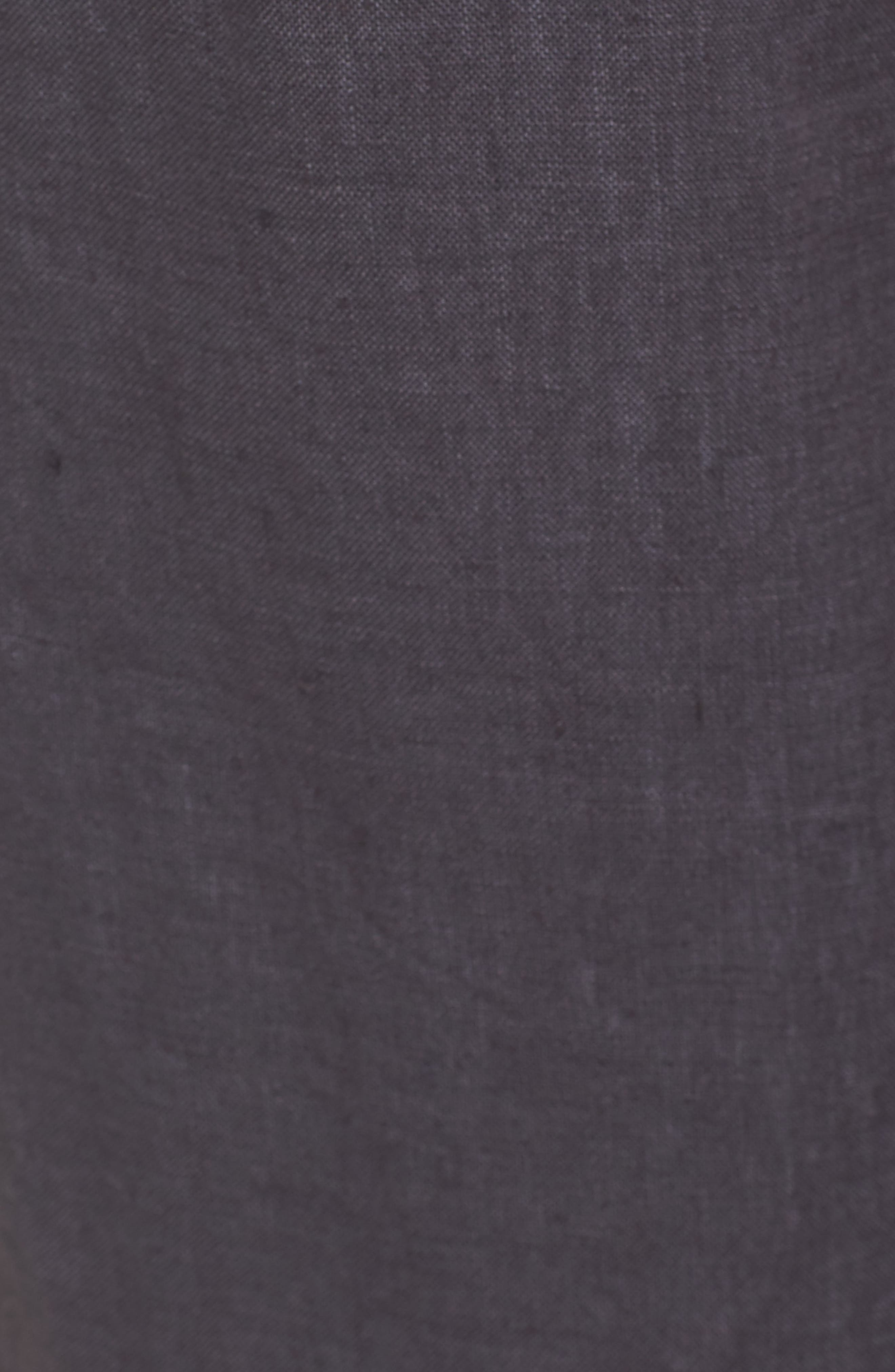 ,                             Linen Jogger Pants,                             Alternate thumbnail 6, color,                             GREY EBONY