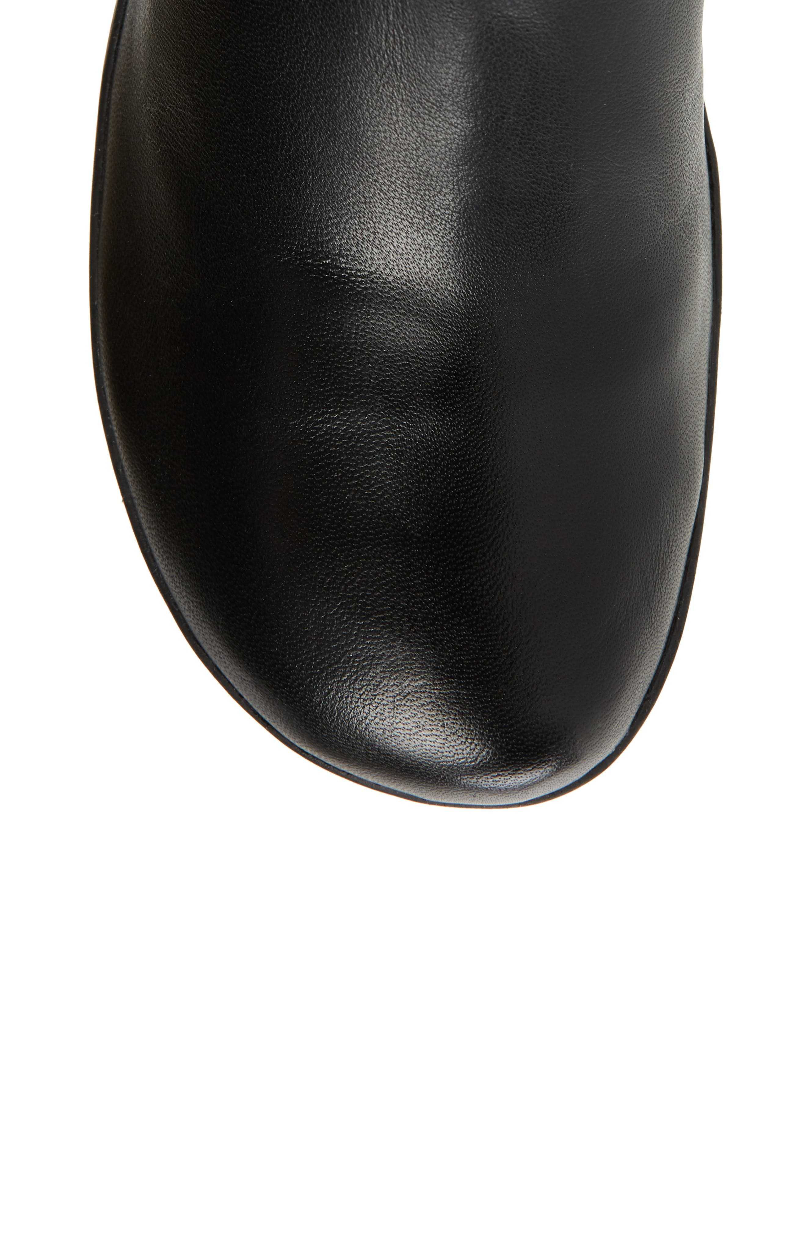 ,                             Naly 23 Boot,                             Alternate thumbnail 5, color,                             BLACK LEATHER