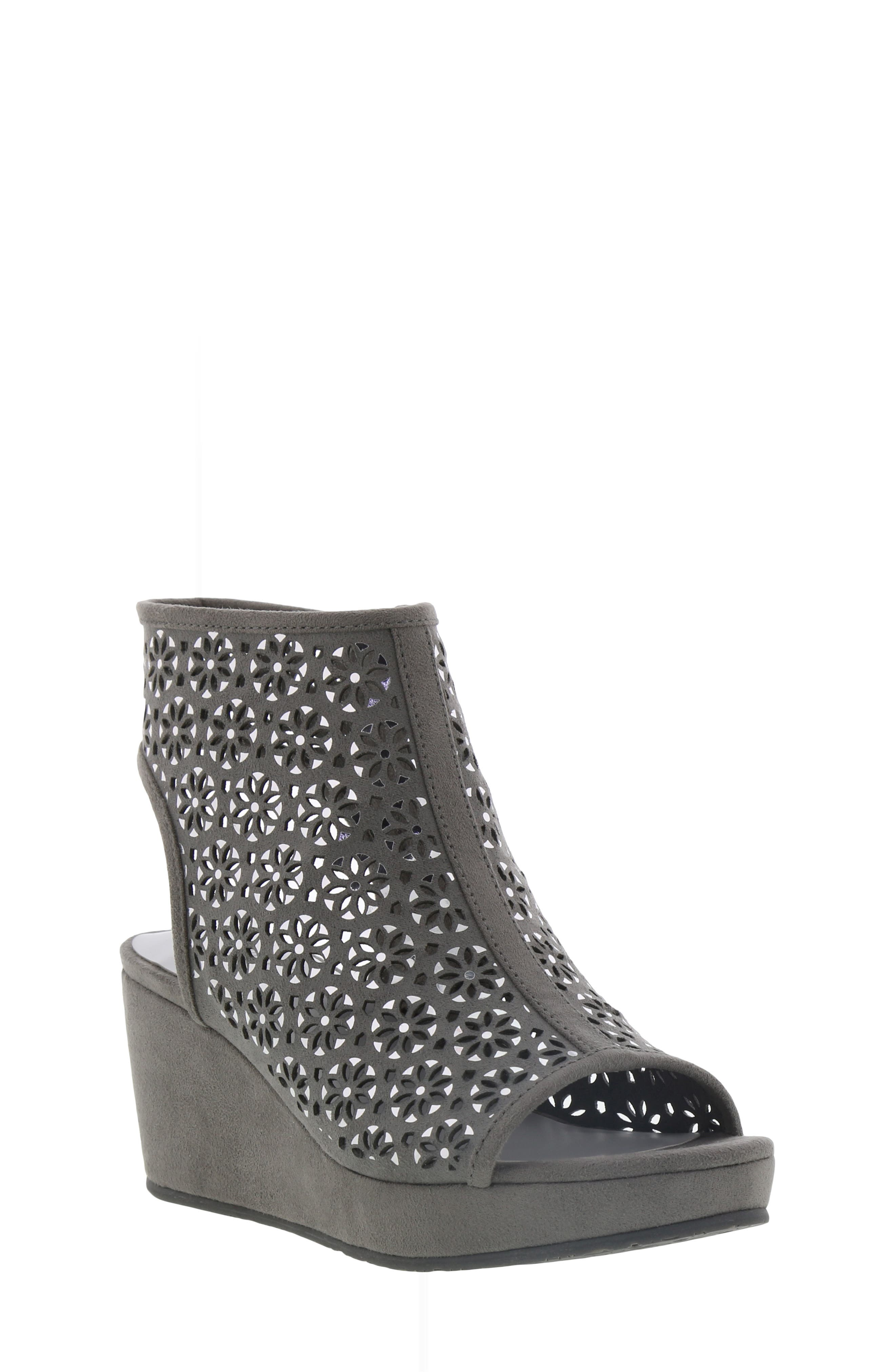 Image of Kenneth Cole New York Corrine Hazel Platform Wedge Sandal