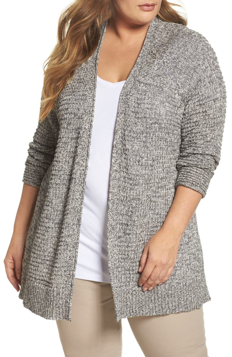 CASLON<SUP>®</SUP> Easy Knit Cardigan, Main, color, 031