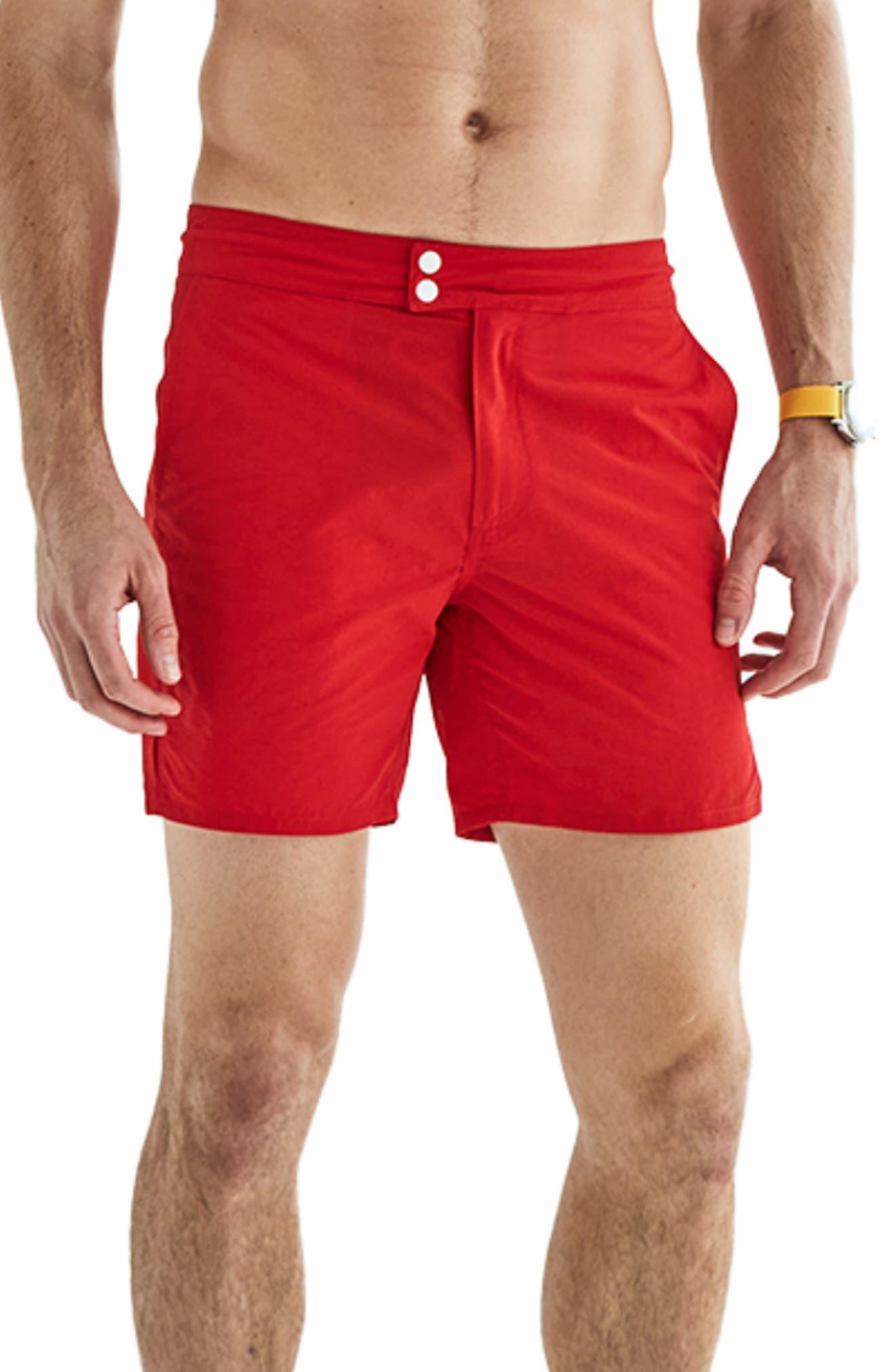 Tailored Swim Shorts