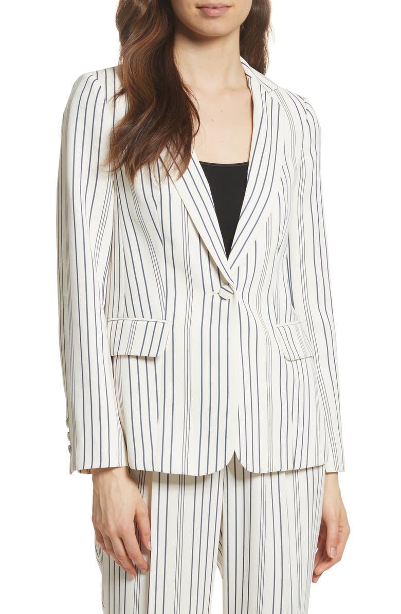 FRAME Stripe Blazer, Main, color, 199