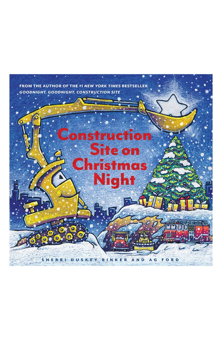 CHRONICLE BOOKS 'Construction Site on Christmas Night' Book, Main, color, 400