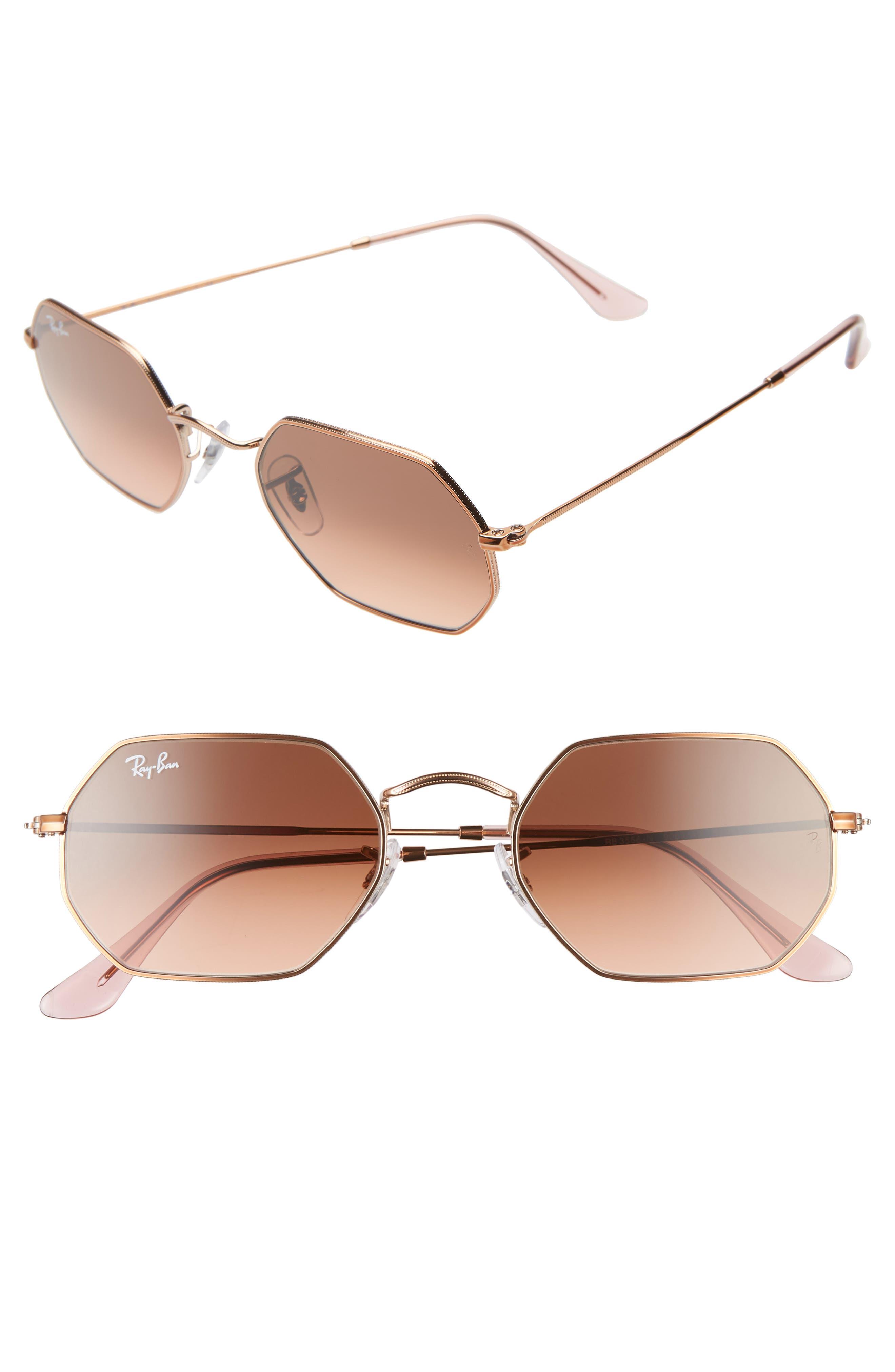 Ray-Ban 5m Rectangular Sunglasses - Copper/ Copper Gradient