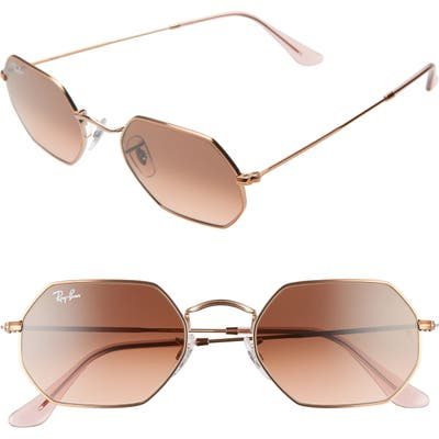 Ray-Ban 5m Rectangular Sunglasses - Copper/ Copper Gradient