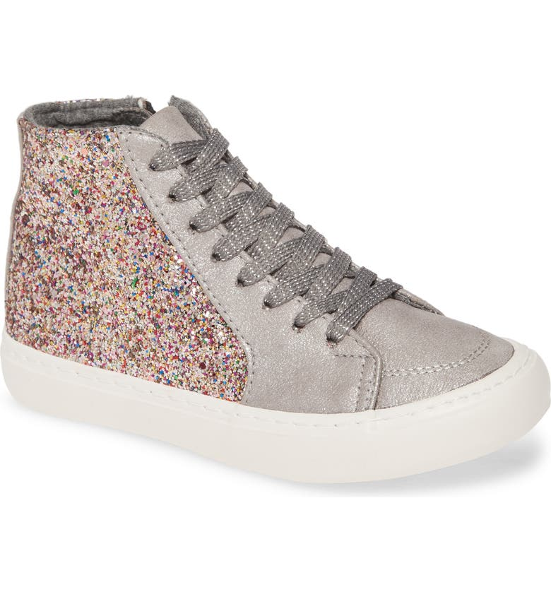 TREASURE & BOND Glitter High Top Sneaker, Main, color, 040