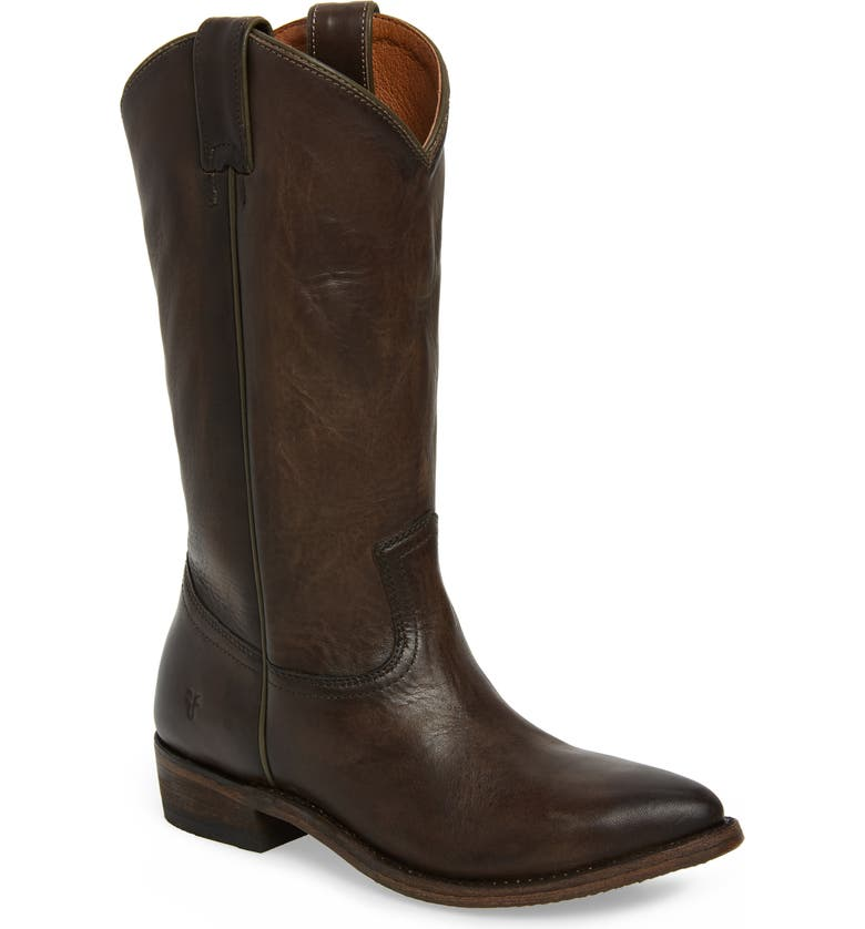 FRYE Billy Pull-On Boot, Main, color, SMOKE LEATHER
