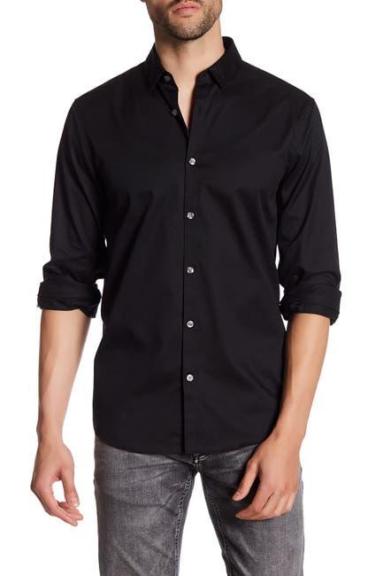 Image of Lindbergh Twill Long Sleeve Regular Fit Shirt