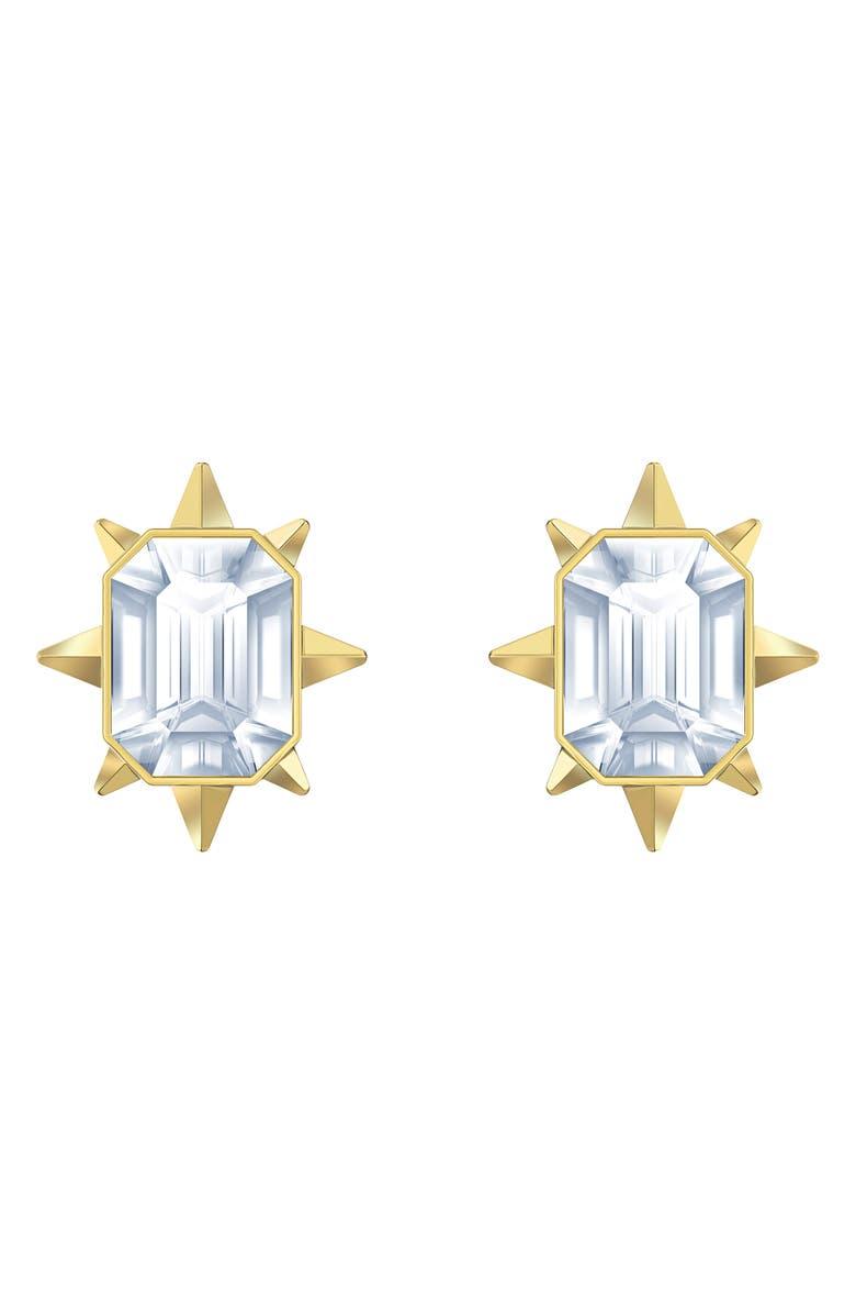 SWAROVSKI Tarot Magic Stud Earrings, Main, color, 710