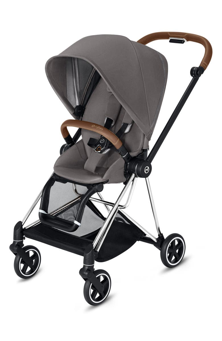 CYBEX Mios Compact Stroller, Main, color, MANHATTAN GREY