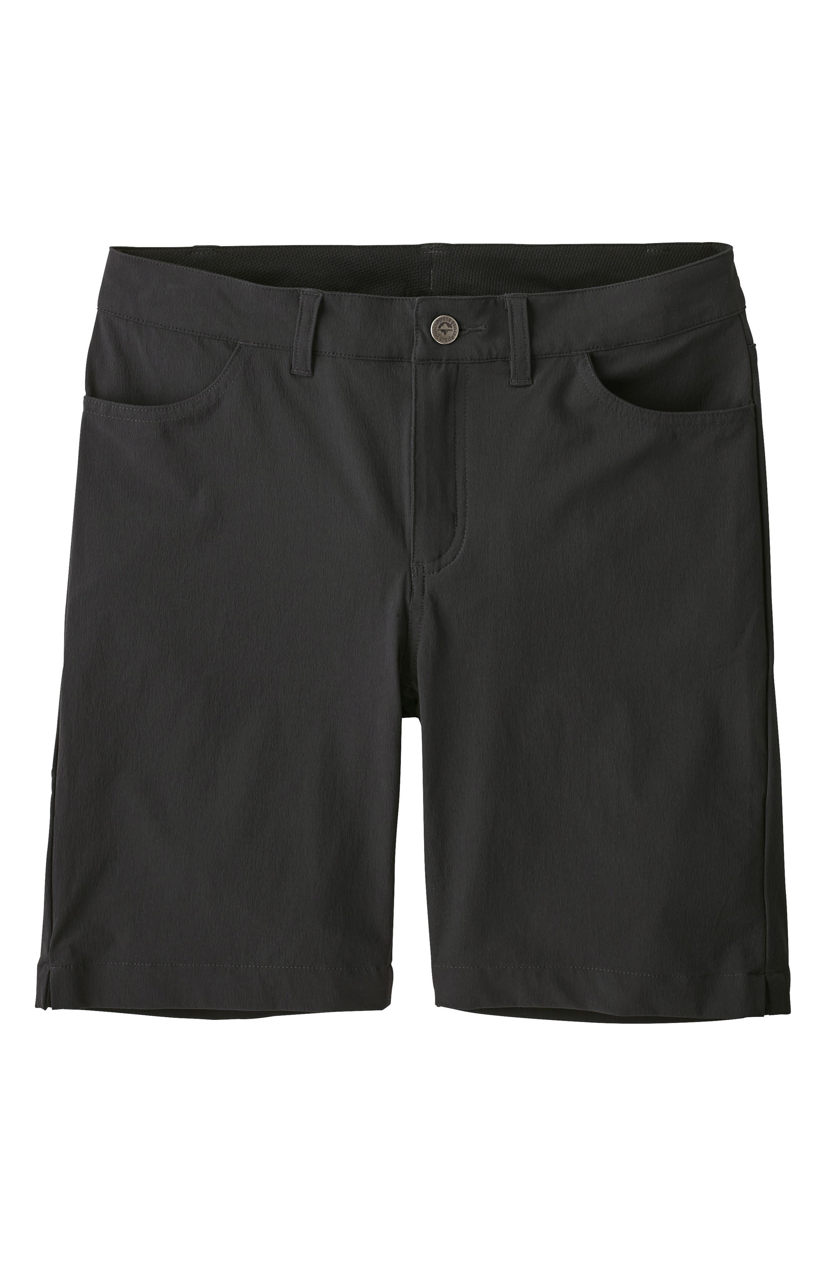 Patagonia Skyline Traveler Shorts, Black