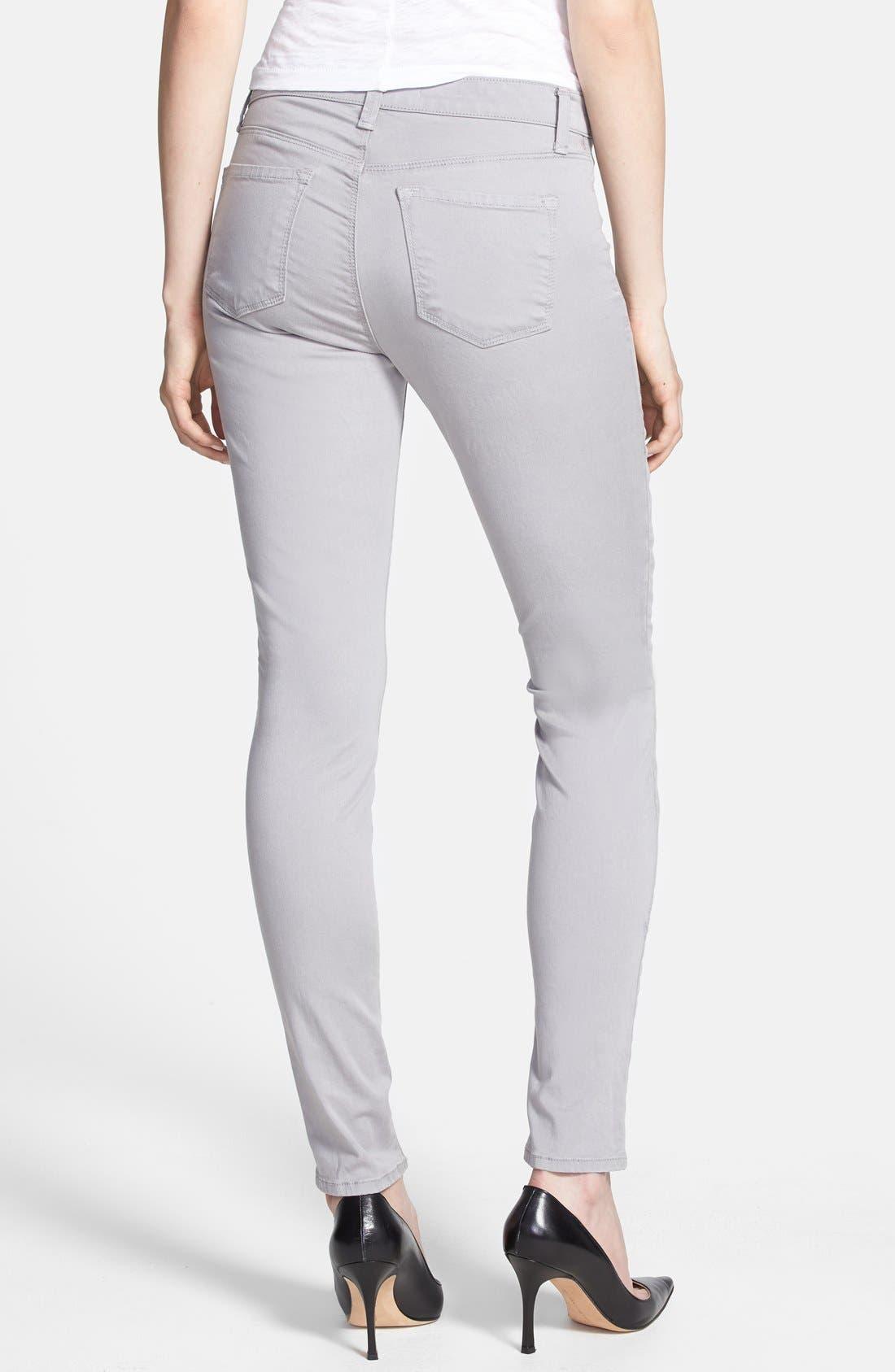 ,                             '485' Mid Rise Super Skinny Jeans,                             Alternate thumbnail 11, color,                             036