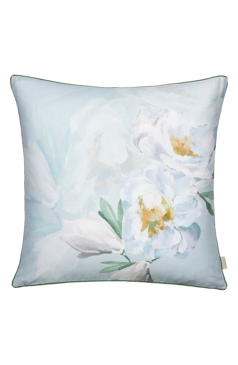 TED BAKER LONDON Wilderness Floral Print Accent Pillow, Main, color, 400