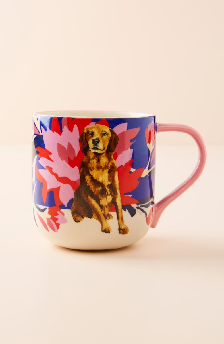 ANTHROPOLOGIE Jay McClellan Mug, Main, color, ROYAL BLUE